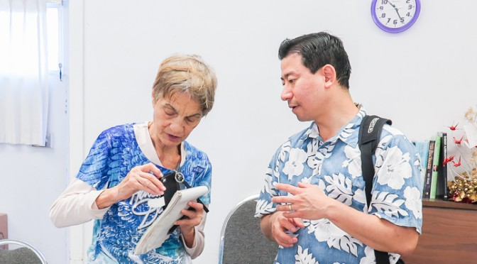 Alice Unawai and Arlen Nagata