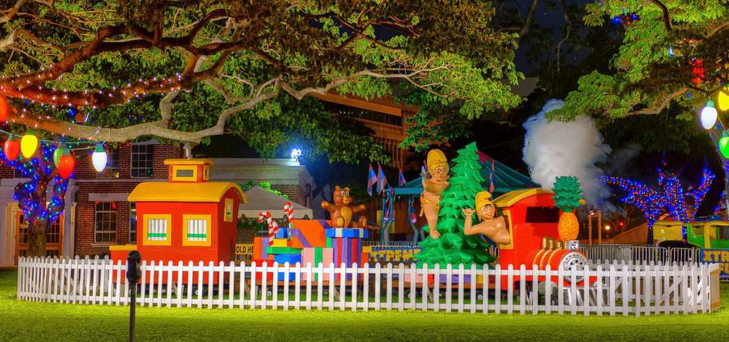 Photo of Honolulu City Lights display